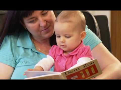 VIDEO (50 seconds) Reading with Babies and Toddlers. This baby is only 11  months old, but already has developed important reading readiness skills,  ...