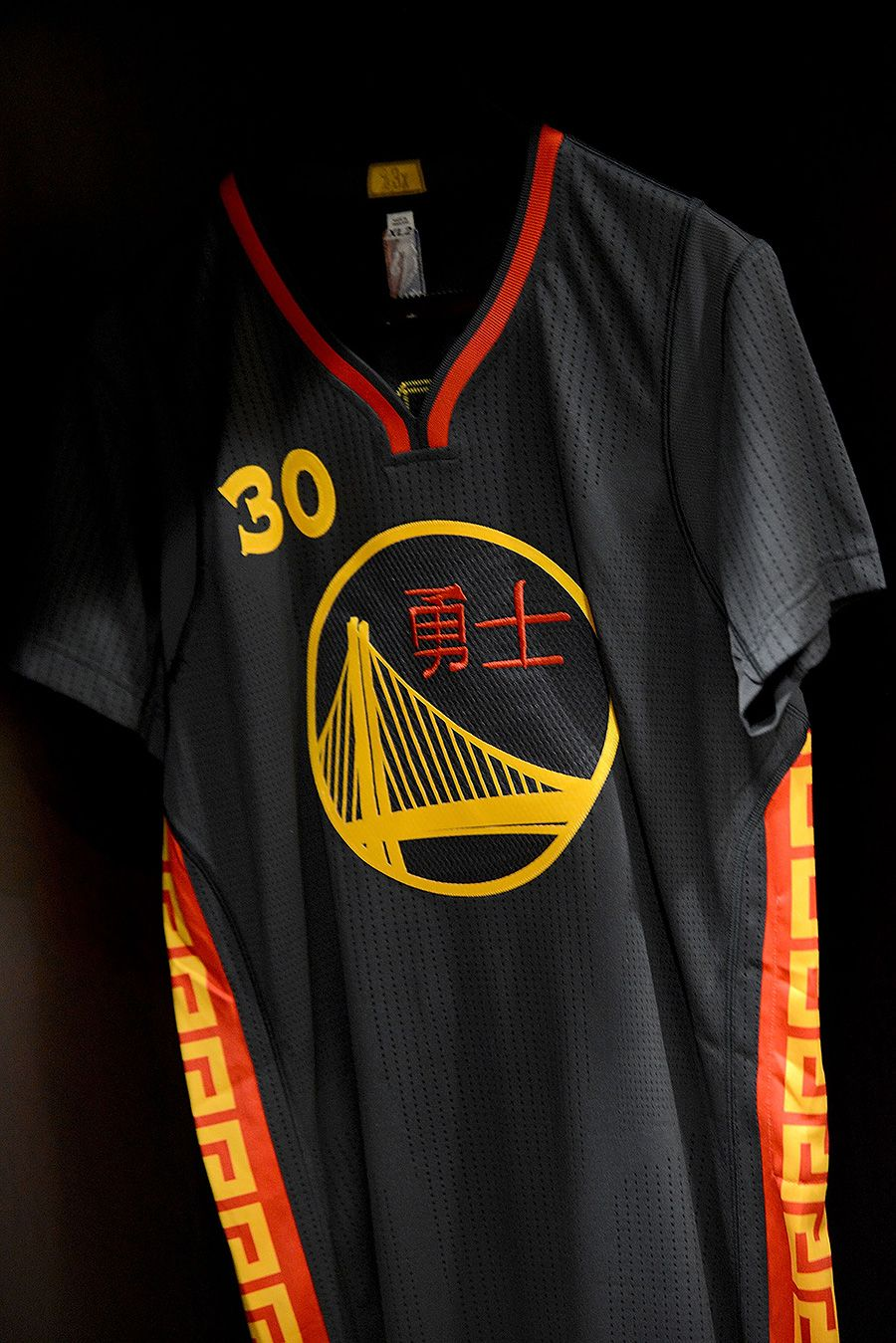 The Warriors  Chinese New Year Uniforms will make their on-court debut on  February 20. 91b41b526