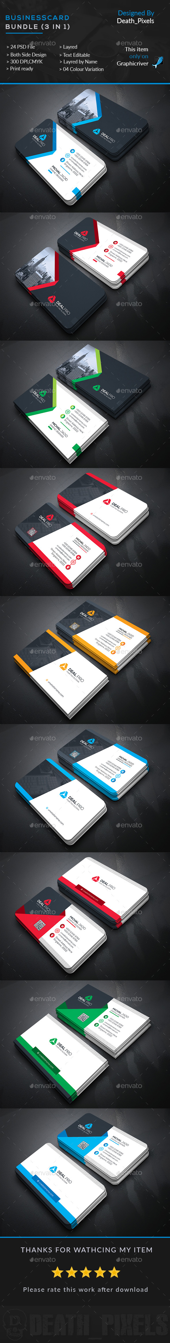 Business card bundle 3 in 1 business cards print templates business card bundle 3 in 1 business cards print templates download here accmission Choice Image