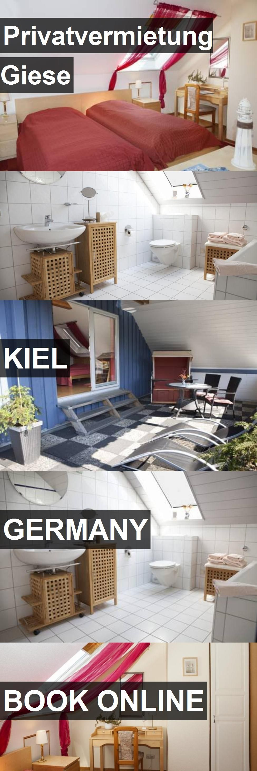 Hotel Privatvermietung Giese in Kiel, Germany. For more