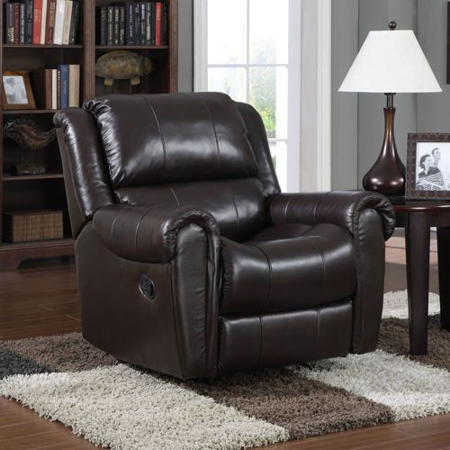 sorell leather rocker recliner - Leather Rocker Recliner