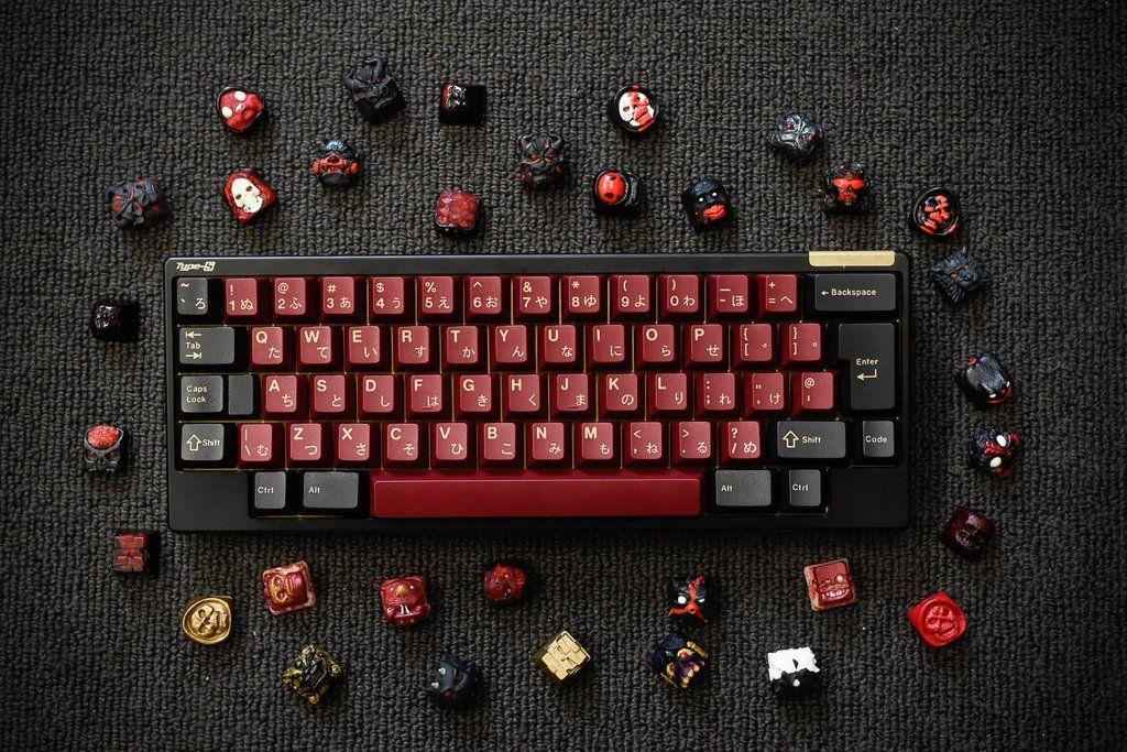 E6-V2 ft  GMK Red Samurai  End-game material