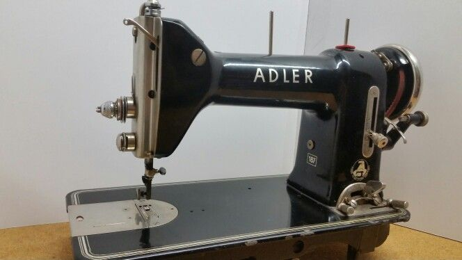 Adler 40 Made In Western Germany Sewing Machine Collection Interesting German Sewing Machines Brands