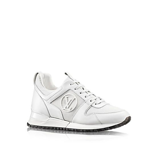 LOUIS VUITTON Run Away Sneaker, white