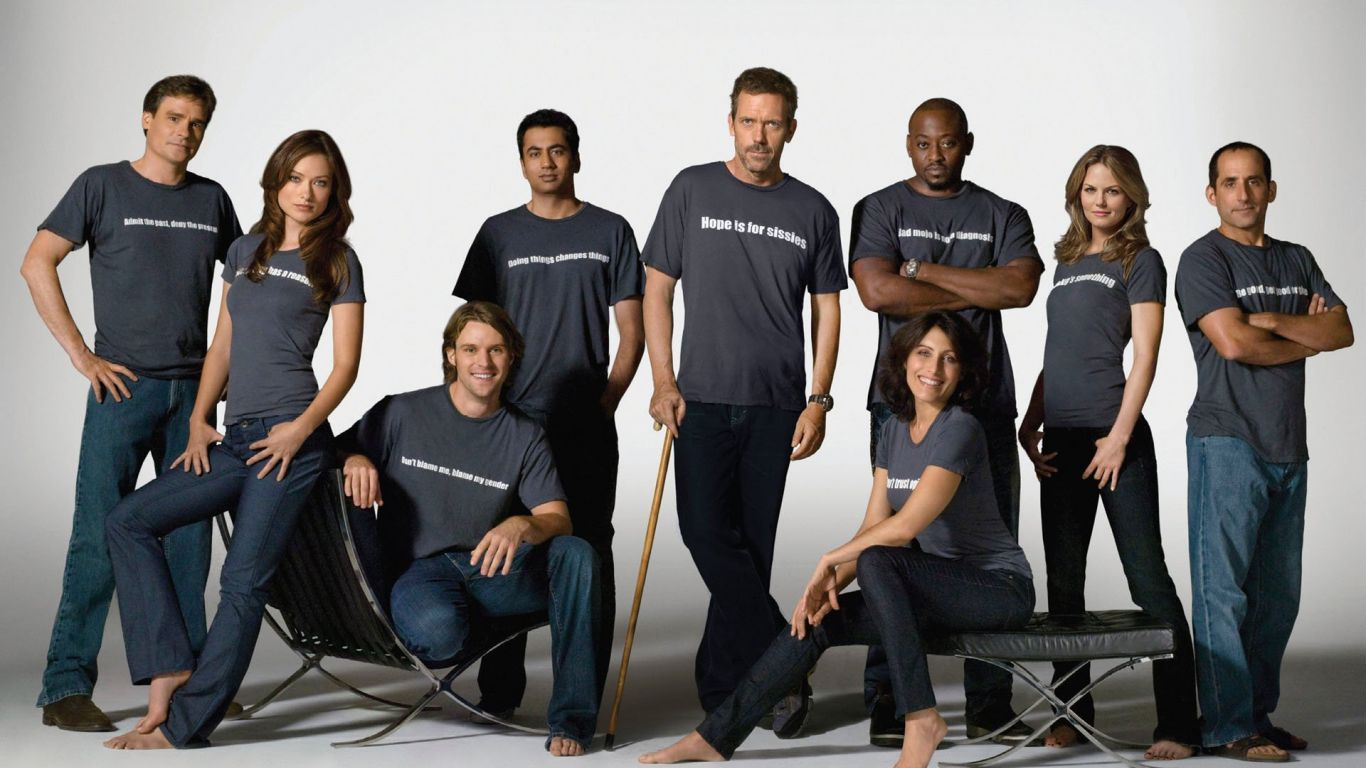 The Whole Main Cast Of House