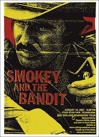 PRINT IMAGE PHOTO RW0 SMOKEY AND THE BANDIT MOVIE POSTER Burt Reynolds RARE
