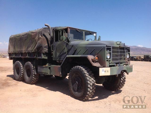 Surplus 1991 Bmy M923a2 5 Ton 6x6 Cargo Truck In Yermo California