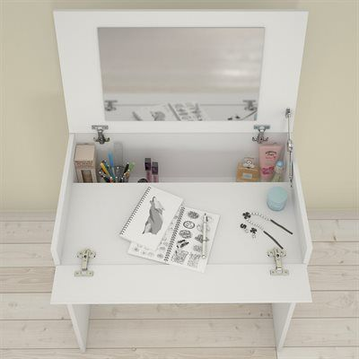 Nexera 221603 BLVD Vanity with Enclosed Storage and Mirror Room in