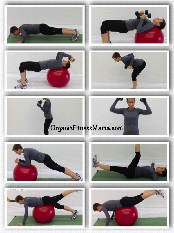 Functional Upper Body Core Circuit Circuit Workout Upper Body Workout
