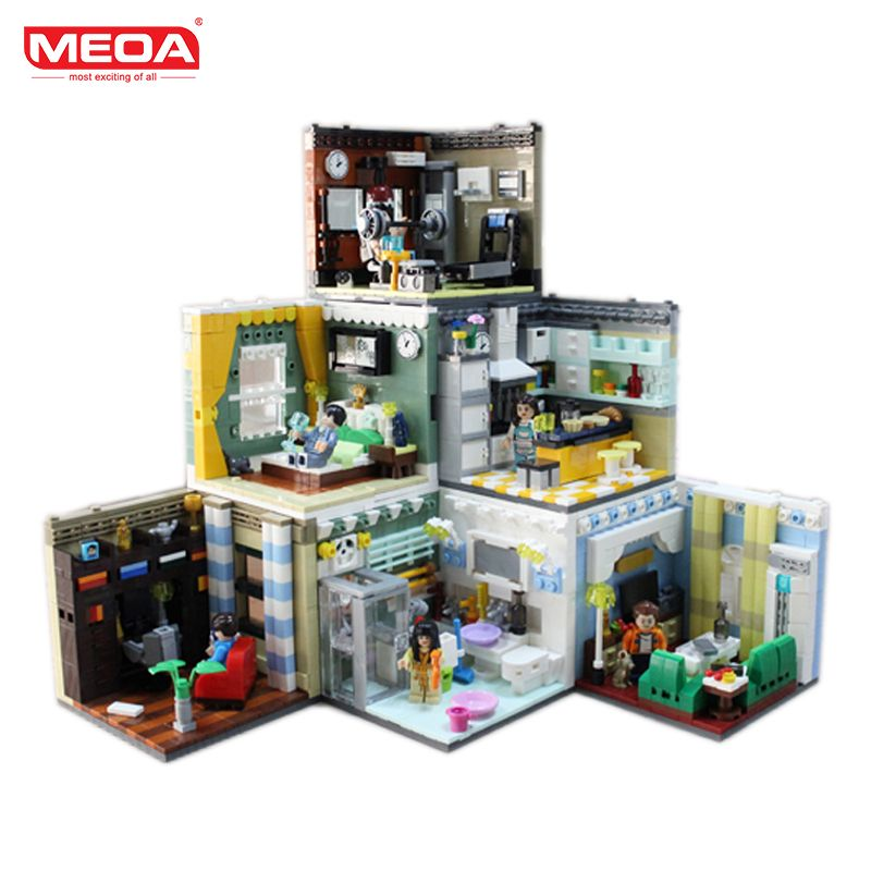 Meoa Living House Sets Home Furnishing Building Blocks With Duplo