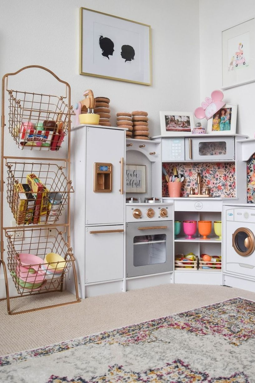 Easy And Clever Kid S Room Storage Ideas Girl Room Toy Rooms