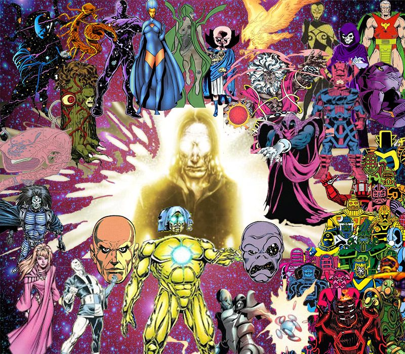 Conheça 10 Entidades Cósmicas do Universo Marvel (bem mais poderosas que Thanos)