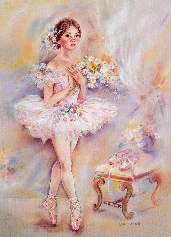 сборку картинки для декупажа балерины танец коллекция