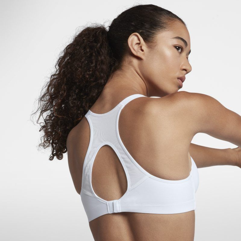 69d3306a1914a Nike Rival Women s High Support Sports Bra - White