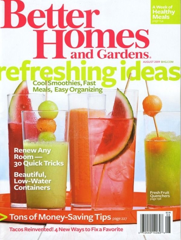 First People Get A Complimentary Free Subscription To Better Homes U0026 Gardens  Magazine!