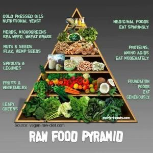 The food pyramid, the way it was Always supposed to look. by LiveLoveLaughMyLife