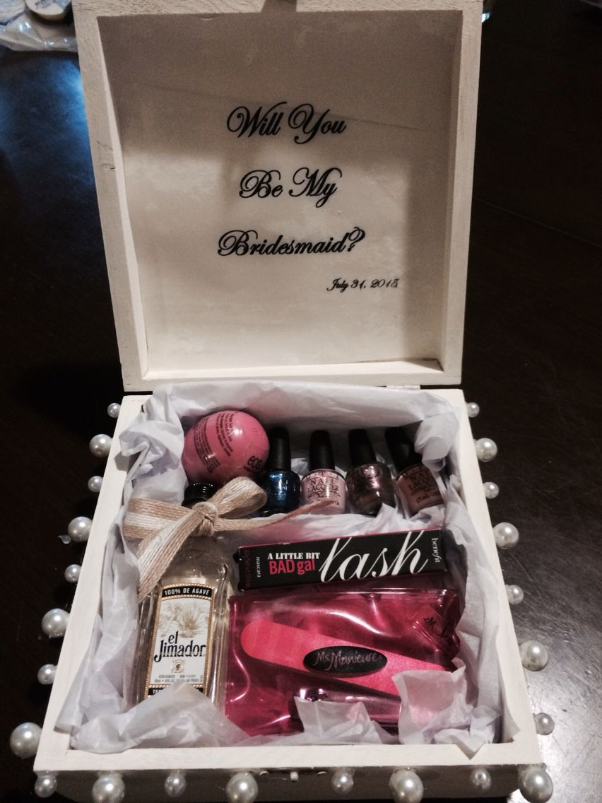 Pop the bridesmaid question wedding one day pinterest