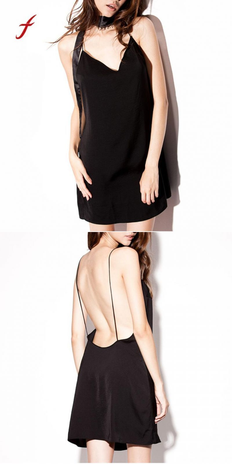 d50ae14693a92 Sexy lingerie erotic backless sleepwear deep v neck night dress home  clothes for women ladies nightgown