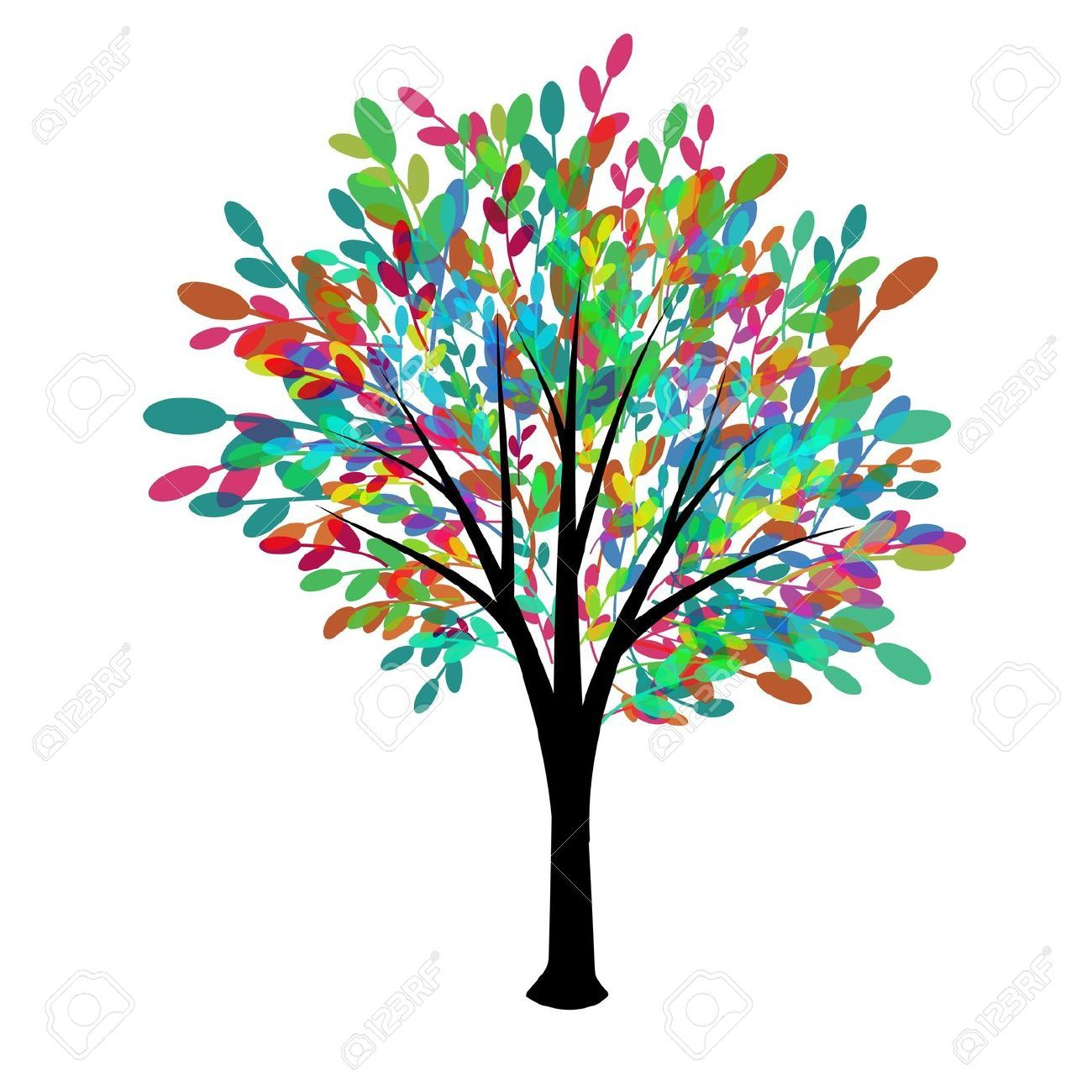 abstract tree drawings google search tree silhouettes vectors rh pinterest com tree of life silhouette clip art celtic tree of life clipart