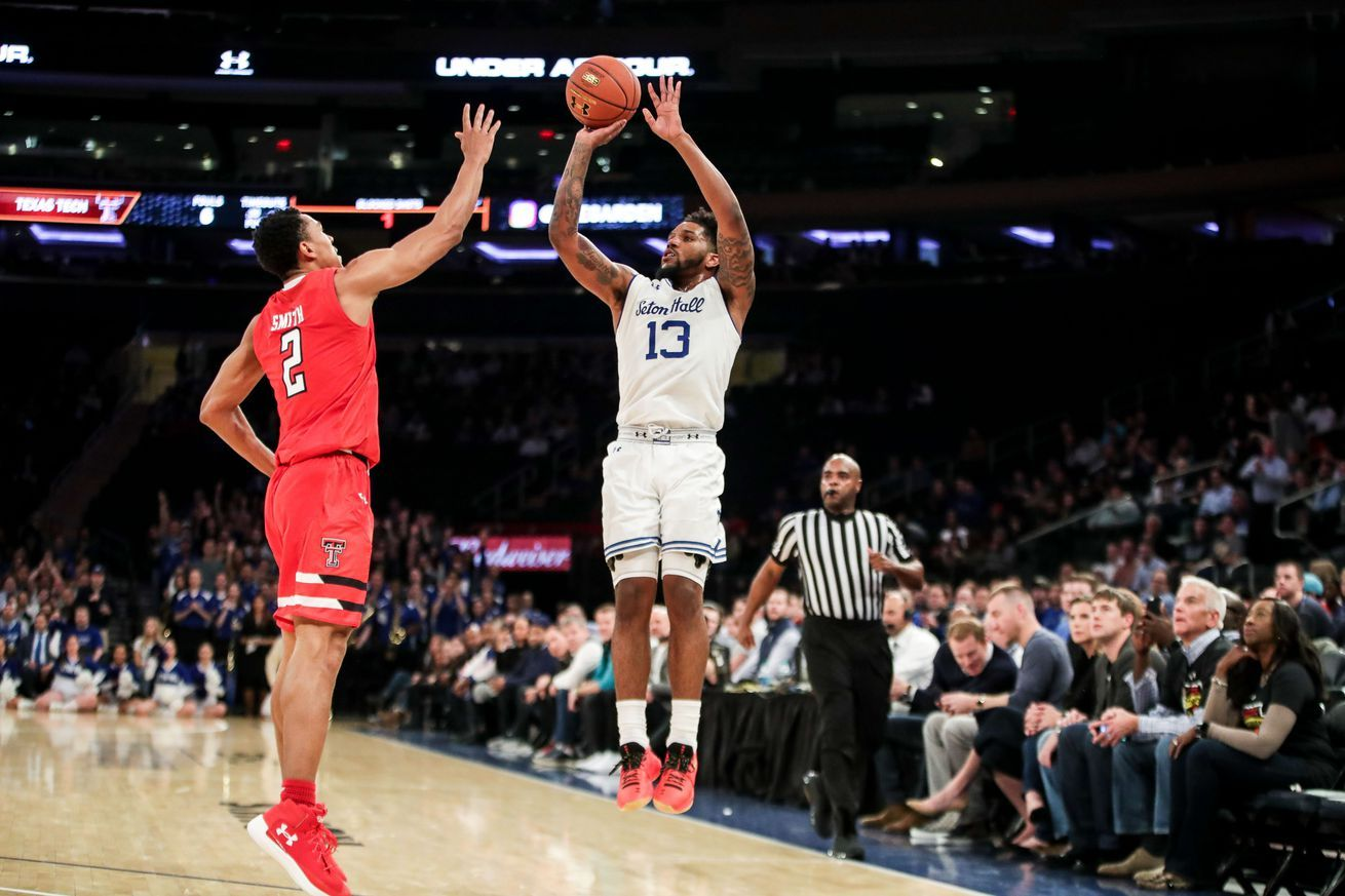 Seton Hall vs. No. 22 Texas Tech Pirates pull away late
