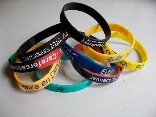 Rubber Bracelets Silicone Wristbands Custom And Cf Bc01 China Brac