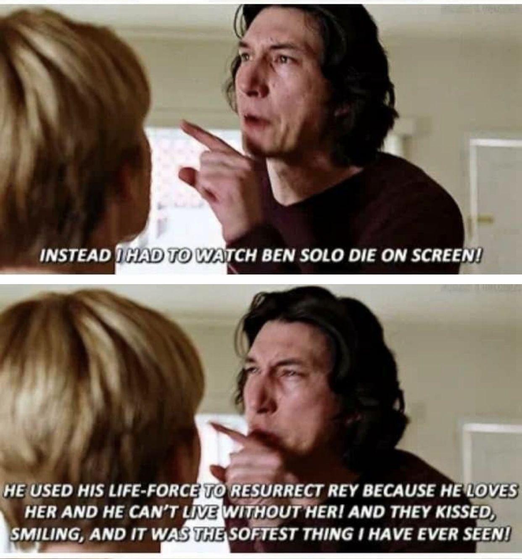 That Scene Was 10 Ply As Heck Star Wars Memes Star Wars Fandom Star Wars Episodes