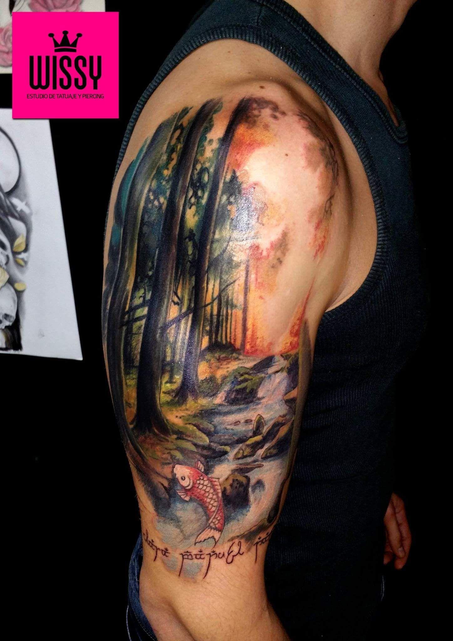 Media manga en proceso wissy tattoo estudio de tatuaje y - Mangas de tattoo ...