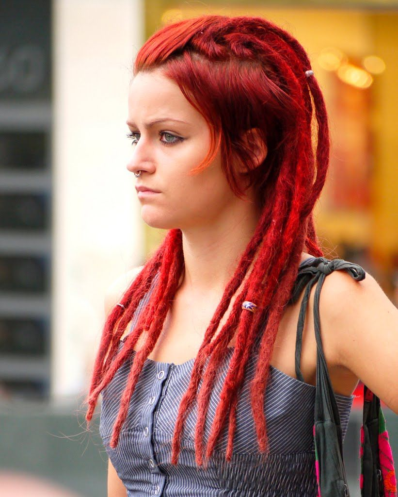 THAT\'S IT!! RED DREDS!! Yeah, probably not. | Current Hair ...