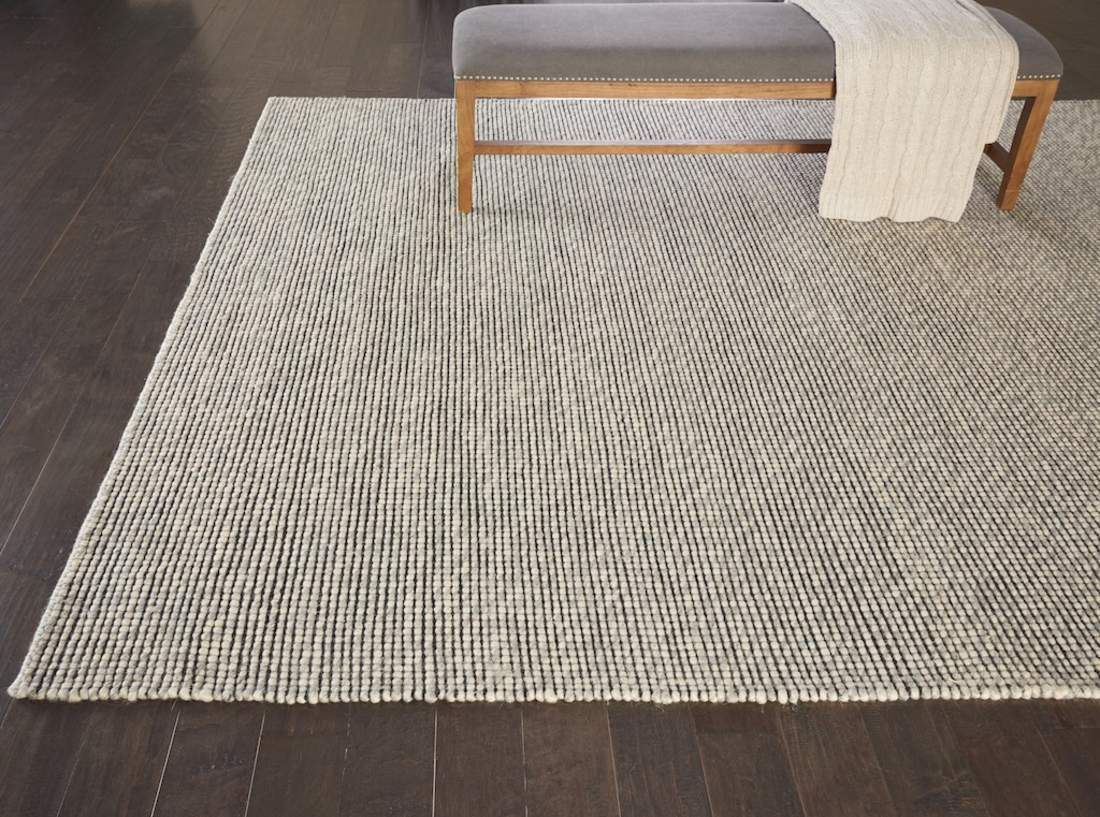 This Beautiful Woolen Lowland Rug Collection From Calvin Klein Combines Beautiful Understated Colors With A Strikin Classic Carpets Carpet Colors Carpet Design