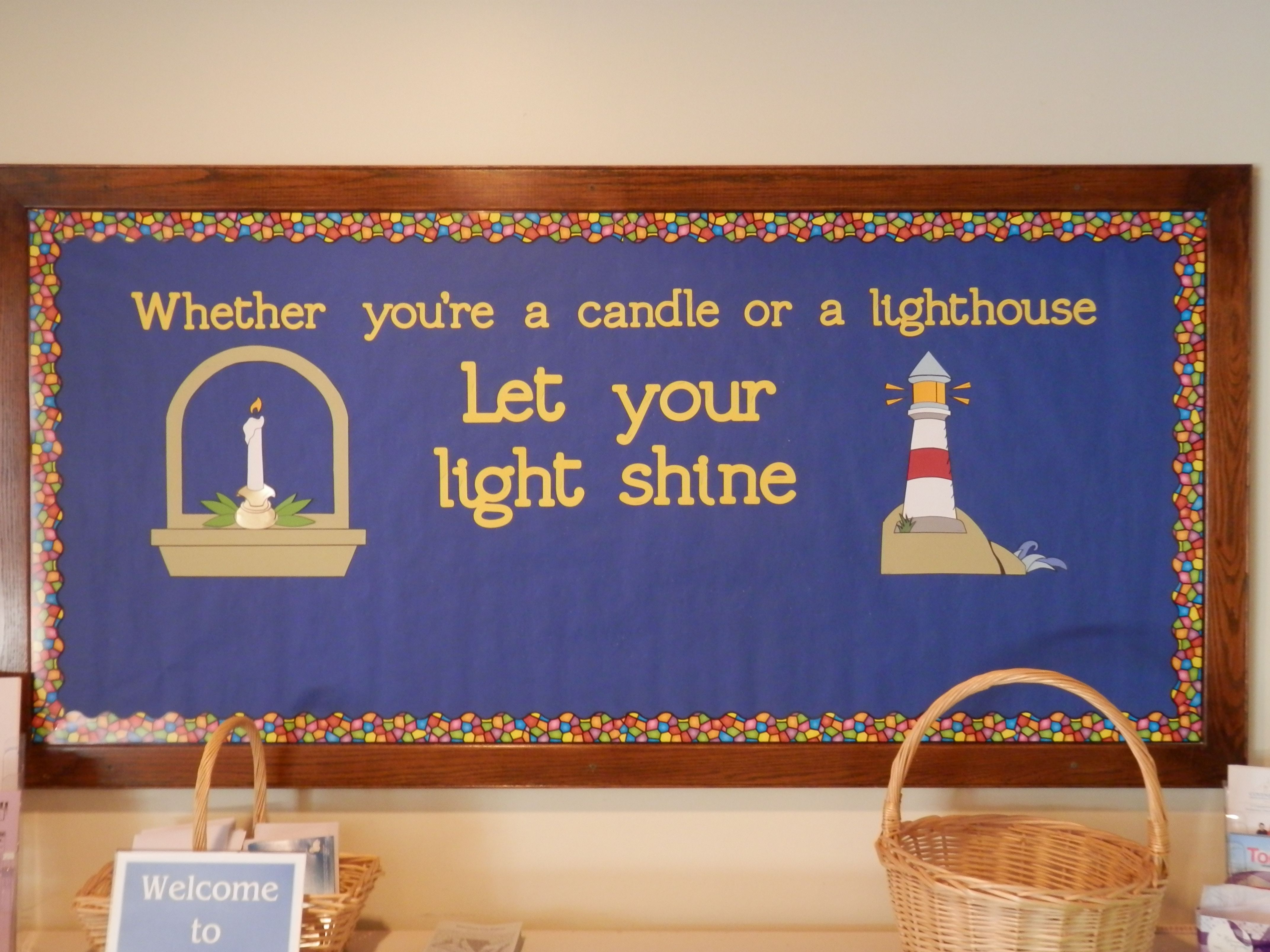 Christian easter bulletin board ideas - So True Whether You Re A Candle Or A Lighthouse Let Your Light Shine Find This Pin And More On Bulletin Board Ideas