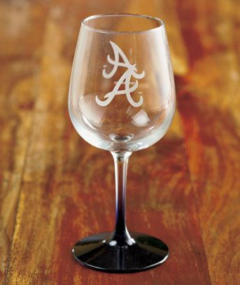 MLB™ 12-Oz. Etched Wine Glasses