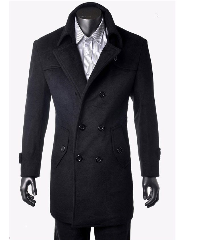 Men's wool cashmere trench coat....yaaaa if Jason were sporting ...