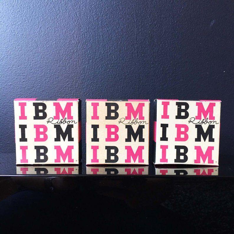 Paul Rand Design IBM Logo Typewriter Ribbon Original 1950s