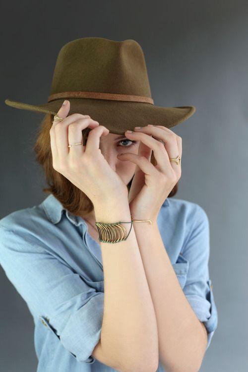 hat + bracelet