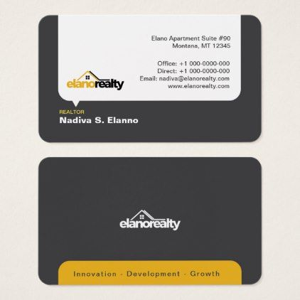 Real estate business card professional gifts custom personal diy real estate business card professional gifts custom personal diy reheart Images