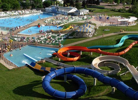 Magic Mountain water park in Moncton, New Brunswick