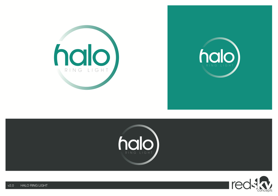 Create new Logo for the Halo Ring Light! by Red Sky
