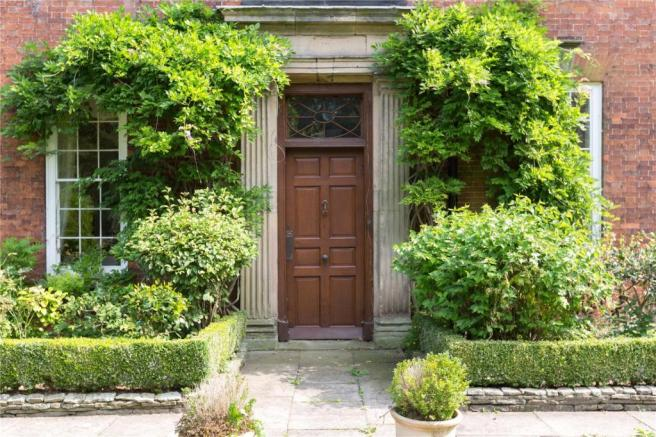 Staffordshire four-bedroom hall boasting period features goes on ...