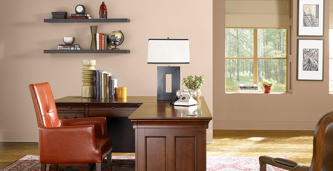 BEHR Artisan Crafts On Far Wall For Dining Room
