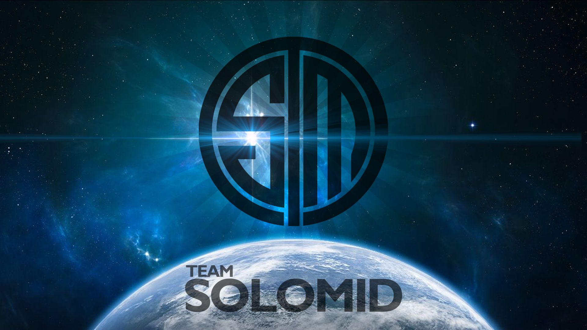 Team Solo Mid Space Wallpaper