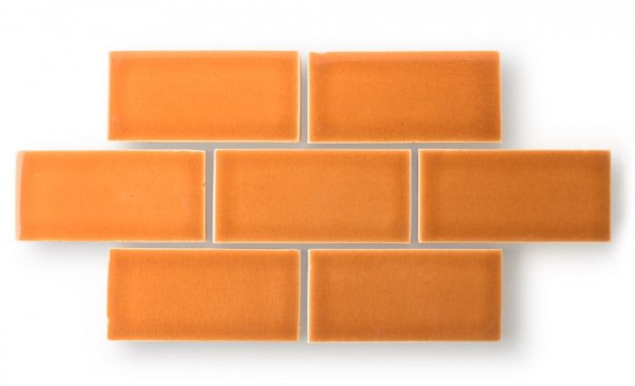 Color Spotlight: Add Zest to Your Space With Orange   Fireclay Tile Design and Inspiration Blog   Fireclay Tile   Color shown: Claypot