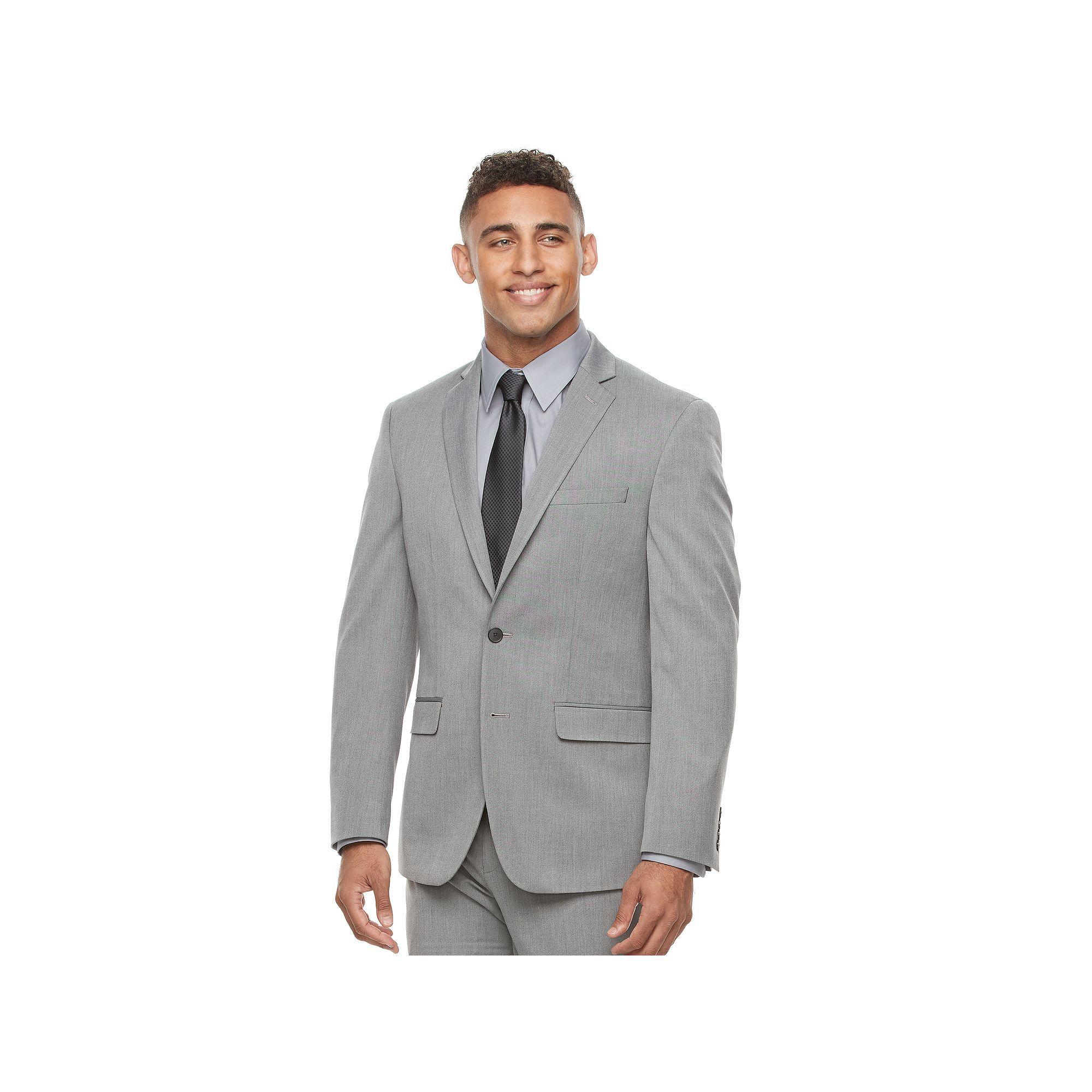 Grey Mens Slim Men V By Waistcoat Flexible