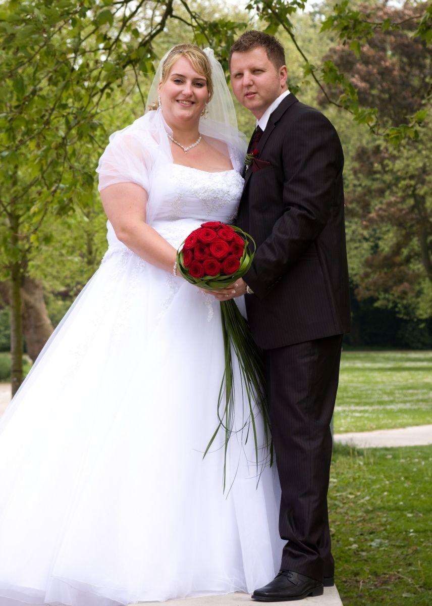 ♥ Wunderschönes Brautkleid Gr. 54/56 günstig zu verkaufen ...