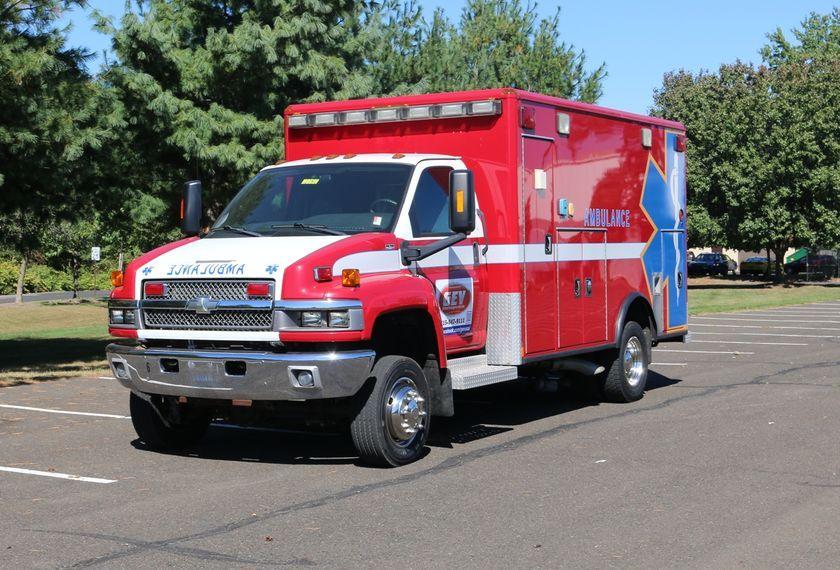 2142 2008 Chevrolet C4500 4x4 Medium Duty Ambulance For Sale At