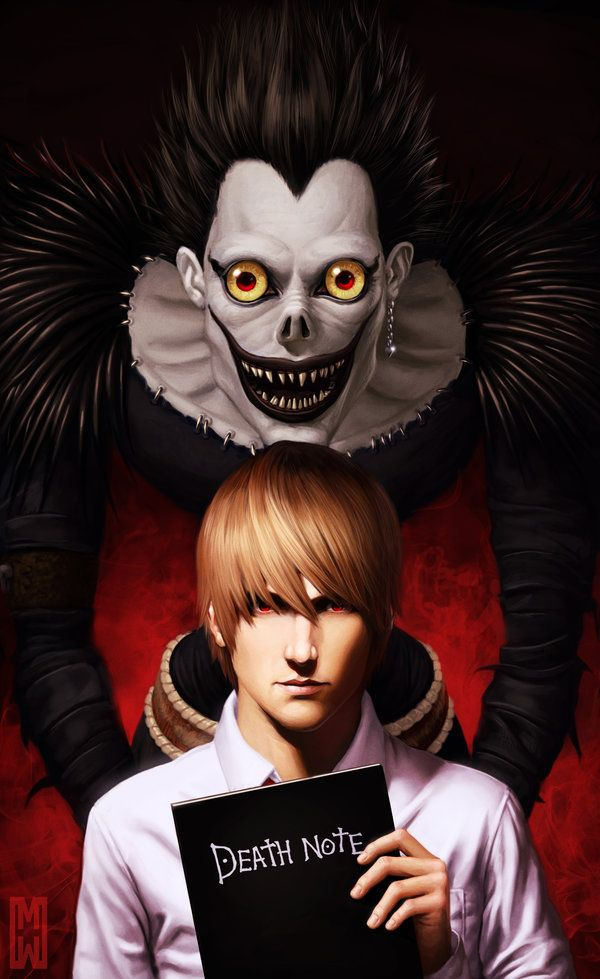 Death Note - Shinigami Ryuk by danielbogni on DeviantArt Death - death note