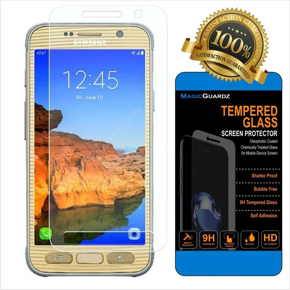 S8 Glas Samsung Galaxy S8 Active Screen Protector Tempered Glass Full