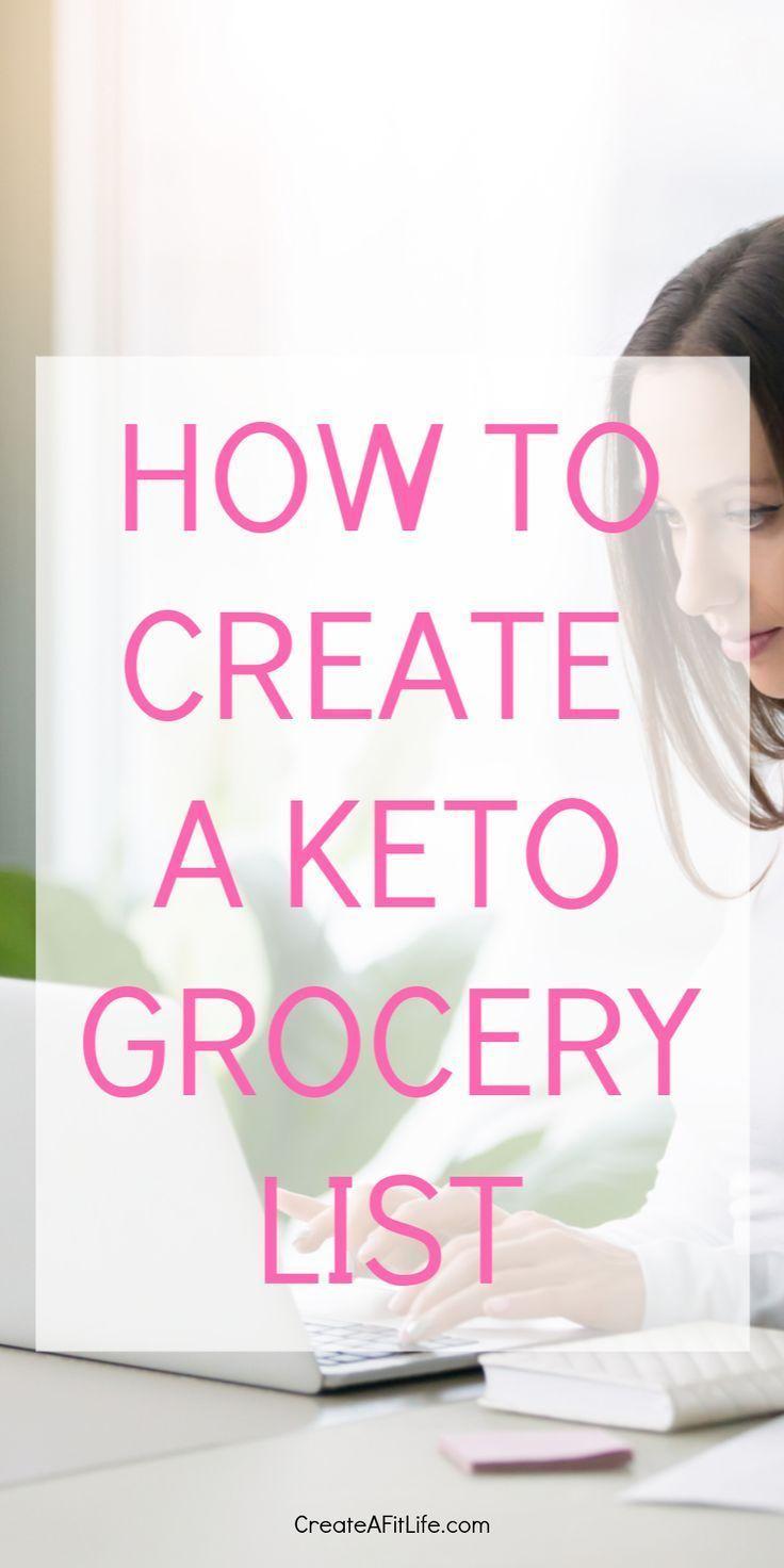 How to Create a Complete Keto Shopping List – Keto Snacks Ideas