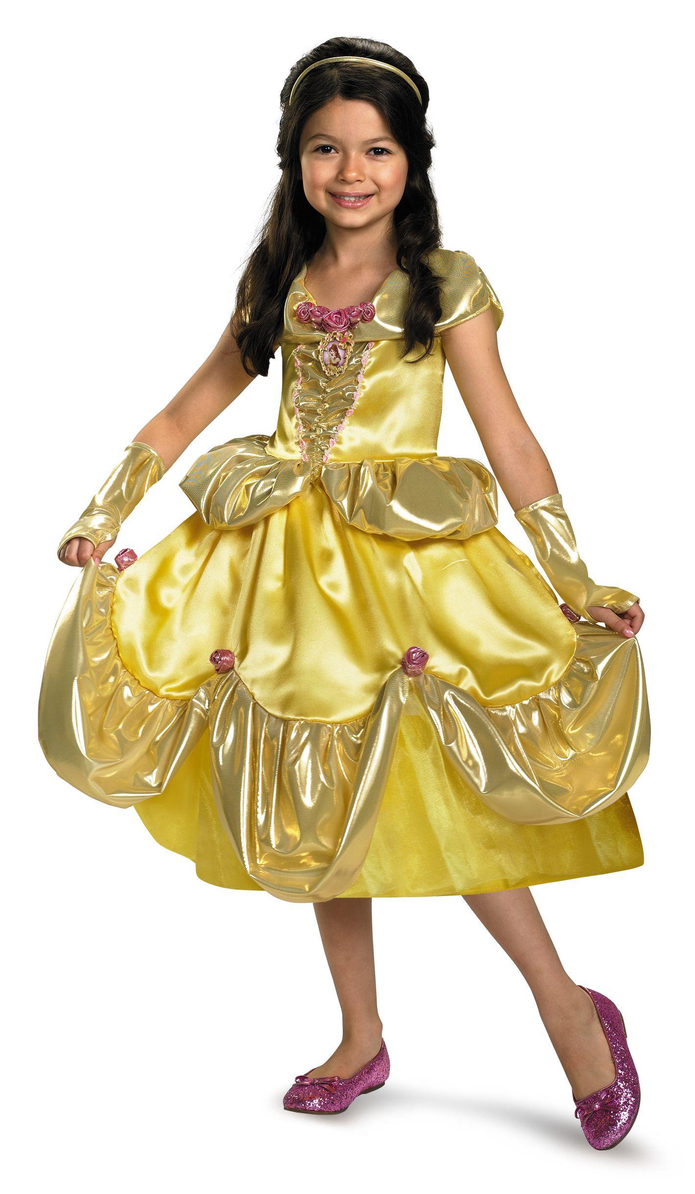 Disney Belle Shimmer Deluxe Costume in 2020 Belle