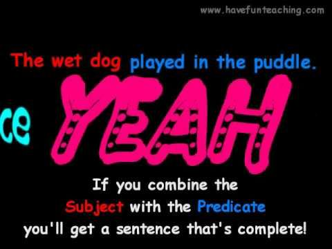 Subject and Predicate Video