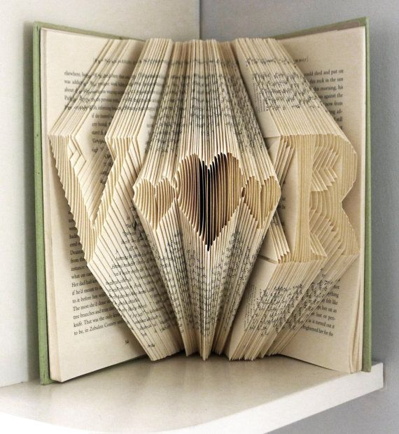 Personalized Valentine Gift For Boyfriend Paper Anniversary Two Initials With Heart In Between Him Her